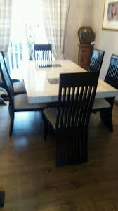 Dfs Dining Room Furniture Dfs Strasbourg Marble Dining Table With 6 Chairs In Kirkby In