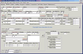 database template access database customer management template