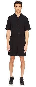 mens one jumpsuit mcq mcq jumpsuit darkest black s jumpsuit rompers one