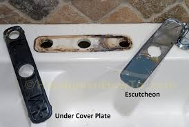 Kitchen Faucet Plate Kitchen Faucet Escutcheon Plate Lovely How To Install A Delta
