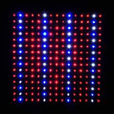 red and blue led grow lights ledwholesalers 2501quad blue red orange white 225 led 13 8 watt