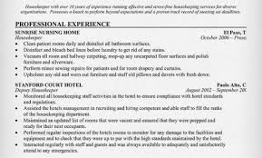 Room Attendant Resume Example by Housekeeping Room Attendant Resume Sample Room Attendant Cover
