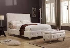 white tufted headboard queen home design ideas