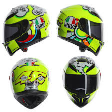Agv K3 Sv Misano Valentino Rossi Replica 2017 Motorcycle Helmet
