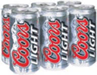 Coors Light 24 Pack Store2door Inc 6 Pack Cans