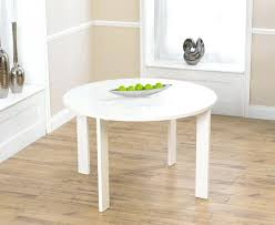 white round dining table and 6 chairs lexus gloss white round