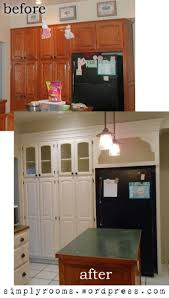 24 best before after images on pinterest home crown molding paint your kitchen cabinets and add crown molding to give your kitchen an entirely knew look