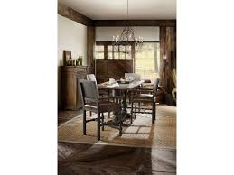 hill country dining room hooker furniture hill country balcones 60in friendship table with