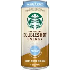 Starbucks Doubleshot Vanilla Light Energy Coffee Drink 15 Fl Oz