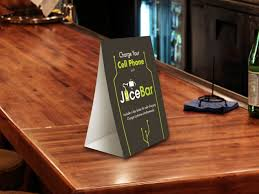 Tent Card Designs Are Restaurant Table Tent Ads Effective Los Angeles Printing