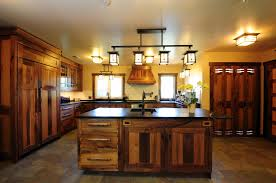 Custom Kitchen Cabinets Design Custom Made Reclaimed Wood Rustic Kitchen Cabinetscorey Morgan For