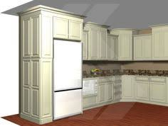 12 Inch Deep Storage Cabinet by Kitchen Pantry Cabinet Refrigerator Cabinet With Side Pantry How