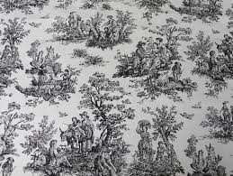 Ideas For Toile Quilt Design Decorations Peasant Pattern Black Toile Bedding Design