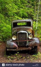green opal car old truck jawbone flats oregon stock photo royalty free image