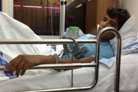 handcuffed to bed bahrain suffering from a severe form of sickle cell disease ali