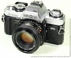 minolta x 700 slr camera index page