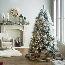 outdoor decorating is easy with pre lit christmas trees adorned