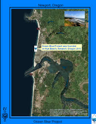 Map Of Newport Oregon by Nye Beach Celebration