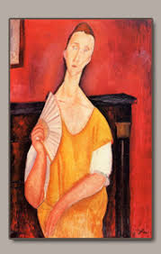 modigliani woman with a fan secretmodigliani 1919 ceroni