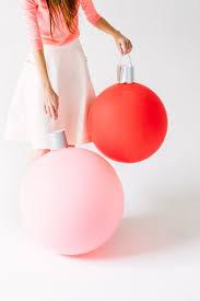 oversize balloons easy ornament diy meg biram
