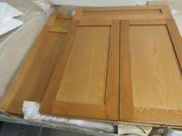 kitchen base cabinets ebay details about kitchen bathroom base cabinet doors shaker solid oak w frame 24 x 30 lot 2