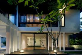 architecture tropical contemporary home design in stunning