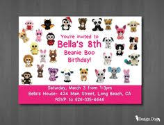 beanie boo birthday party beanie boo prints digital files beanie