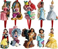 limited edition 2011 disney princess ornament set