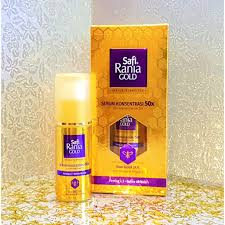 Serum Safi Rania Gold new safi rania concentrated serum 24k bio gold nano 20ml shopee