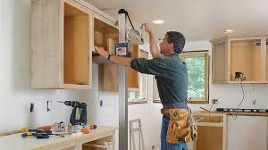 how to hang a cabinet to the wall installing kitchen cabinets smooth and homebuilding