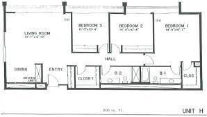 1600 sq ft floor plans floorplans laguna woods village