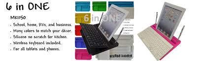 Home Decor Credit Cards by Mykeyo 6 In One Keyboard With Organizers With Tablet Stands And More
