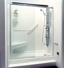 Plexiglass Shower Doors How To Clean Acrylic Shower Wall Surround