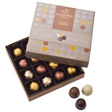 Chocolate Delivery Godiva Chocolate Bonbons 16 Chocolates Delivery In Europe Others