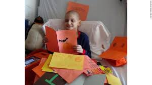 9 year old with cancer wants cards for his last christmas cnn