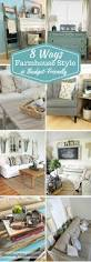 farmhouse style style is the best decorating style for a shoestring budget