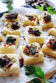 puff pastry canape ideas puff pastry canapes ideas inspirational blue cheese bacon and can d