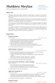 software architect resume software architect resume samples