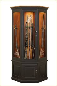 Corner Curio Cabinet Kit Gun Cabinet Woodworking Plans With Popular Picture In Ireland