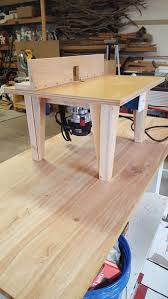 Building A Router Table by Diy Router Table 6 Steps With Pictures