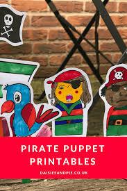 pirate puppet printables daisies u0026 pie