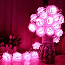 Fairy Garden Party Ideas by Led Rose Flower Fairy Wedding Garden Party Christmas Decor Xmas