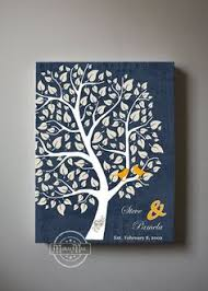 50th anniversary guest book personalized anniversary guest book tree 50th anniversary celebration