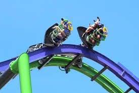 Great America Six Flags Rides Review Joker At Six Flags Great America Coaster101
