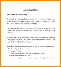 incident report form template word reporting template construction report form