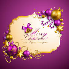 christmas decoration frame vector card ai svg eps vector free