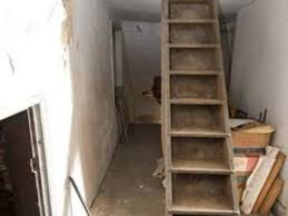 57 pull down attic ladder pull down attic loft ladder with rail