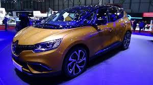 renault geneva 2017 renault scenic exterior and interior geneva motor show