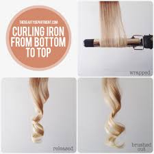best curling iron for short fine hair the beauty department your daily dose of pretty types of curl