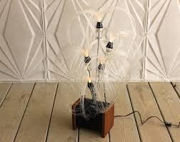 fiber optic lamp etsy